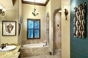 Mediterranean Style House Plan - 4 Beds 5 Baths 3777 Sq/Ft Plan #930-21 Interior - Bathroom