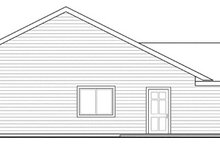 Dream House Plan - Ranch Exterior - Other Elevation Plan #124-855