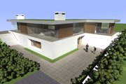 Modern Style House Plan - 3 Beds 4 Baths 4119 Sq/Ft Plan #520-5