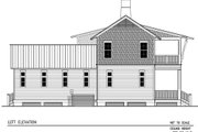 Beach Style House Plan - 3 Beds 4 Baths 2383 Sq/Ft Plan #443-1 Exterior - Other Elevation