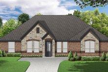 Dream House Plan - European Exterior - Front Elevation Plan #84-595