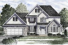 Home Plan - Country Exterior - Front Elevation Plan #316-193