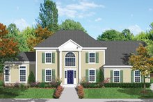 House Plan Design - Classical Exterior - Front Elevation Plan #1053-62