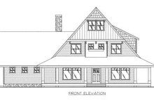 Country Exterior - Other Elevation Plan #117-536