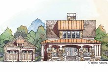 Craftsman Exterior - Front Elevation Plan #429-427