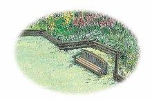 Exterior - Rear Elevation Plan #1040-59