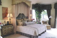 House Plan Design - Mediterranean Interior - Master Bedroom Plan #930-415