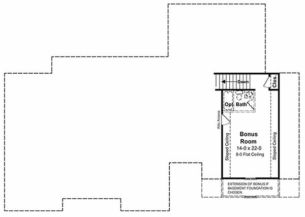 Architectural House Design - Southern Floor Plan - Other Floor Plan #21-102