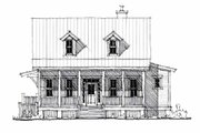 Cottage Style House Plan - 4 Beds 3 Baths 1970 Sq/Ft Plan #464-13 Exterior - Front Elevation