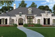Ranch Style House Plan - 3 Beds 3.5 Baths 2403 Sq/Ft Plan #119-435