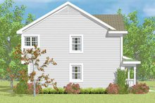 Country Exterior - Other Elevation Plan #72-1107