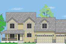 Craftsman Exterior - Front Elevation Plan #981-10