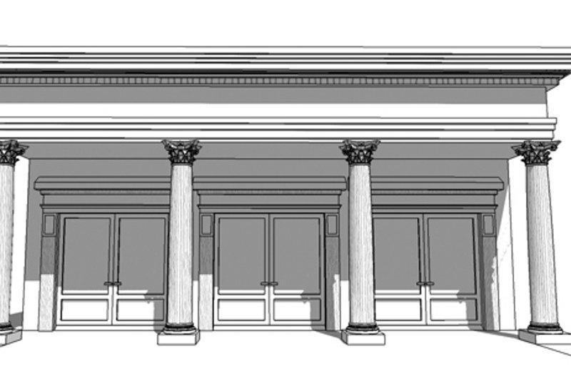 Classical Exterior - Front Elevation Plan #64-323 - Houseplans.com