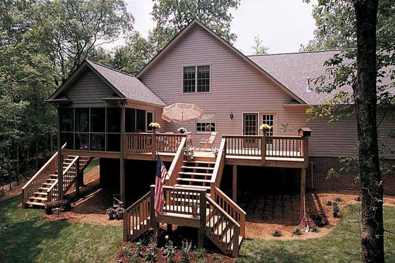 Country Exterior - Rear Elevation Plan #929-242 - Houseplans.com