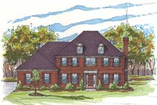Traditional Exterior - Front Elevation Plan #435-8