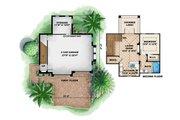 Mediterranean Style House Plan - 1 Beds 1 Baths 1729 Sq/Ft Plan #27-535 Floor Plan - Main Floor Plan