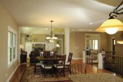 Craftsman Style House Plan - 3 Beds 2.5 Baths 2976 Sq/Ft Plan #928-88 Interior - Dining Room