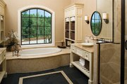 European Style House Plan - 4 Beds 4 Baths 4693 Sq/Ft Plan #929-892 Interior - Master Bathroom
