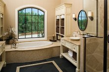European Interior - Master Bathroom Plan #929-892