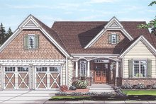 House Plan Design - Country Exterior - Front Elevation Plan #46-867