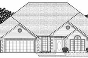 Traditional Exterior - Front Elevation Plan #65-184