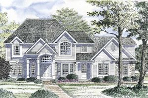 Home Plan - Traditional Exterior - Front Elevation Plan #316-161