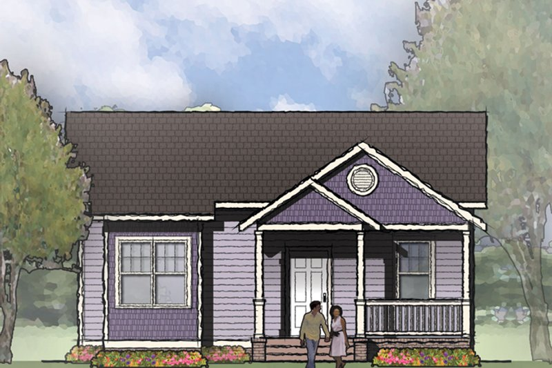 Craftsman Exterior - Front Elevation Plan #936-18 - Houseplans.com