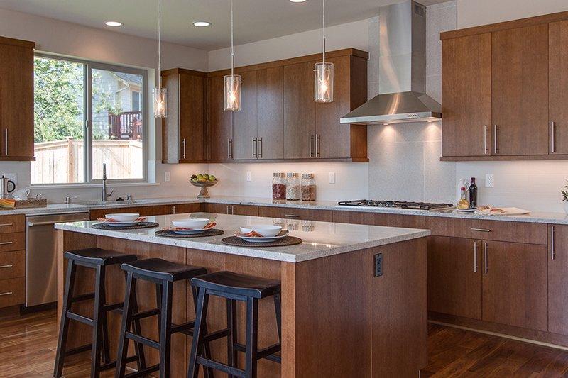 Contemporary Interior - Kitchen Plan #132-564 - Houseplans.com