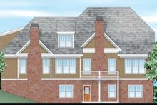 Craftsman Exterior - Rear Elevation Plan #927-408