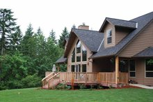 House Plan Design - Craftsman Exterior - Rear Elevation Plan #943-22