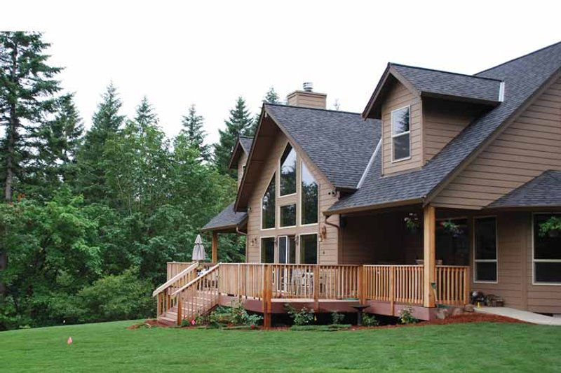 Craftsman Exterior - Rear Elevation Plan #943-22 - Houseplans.com
