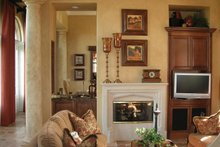 Mediterranean Interior - Family Room Plan #1058-18