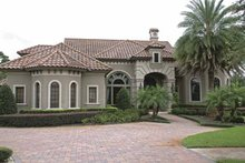 Home Plan - Mediterranean Exterior - Front Elevation Plan #1019-10