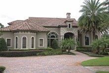 House Plan Design - Mediterranean Exterior - Front Elevation Plan #1019-10