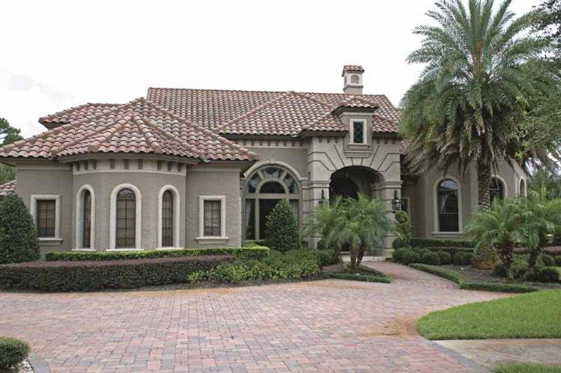 Dream House Plan - Mediterranean Exterior - Front Elevation Plan #1019-10