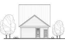 Cottage Exterior - Rear Elevation Plan #430-117