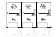 Traditional Style House Plan - 3 Beds 2.5 Baths 5420 Sq/Ft Plan #20-629 Floor Plan - Lower Floor