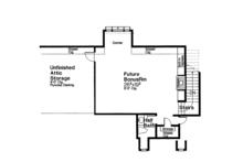 European Floor Plan - Other Floor Plan Plan #310-1260