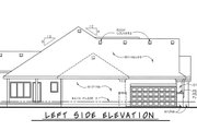 Country Style House Plan - 3 Beds 2.5 Baths 1635 Sq/Ft Plan #20-2192 Exterior - Other Elevation