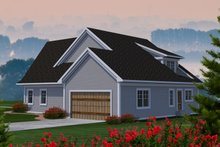 House Plan Design - Craftsman Exterior - Rear Elevation Plan #70-1228