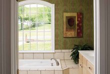 House Design - Country Interior - Master Bathroom Plan #929-672