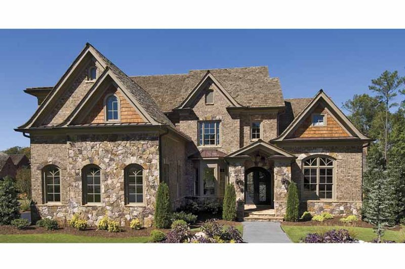 Traditional Exterior - Front Elevation Plan #54-300 - Houseplans.com
