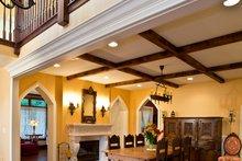 Craftsman Interior - Entry Plan #928-244