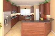 Craftsman Style House Plan - 4 Beds 2.5 Baths 2400 Sq/Ft Plan #21-295 Interior - Kitchen