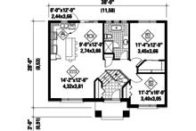 Floor Plan - Main Floor Plan Plan #25-4269