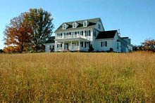 Country house Farm house elevation photo