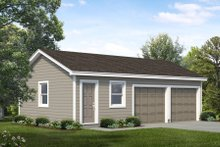 Home Plan - Traditional Exterior - Front Elevation Plan #47-1062