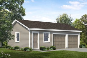 House Plan Design - Traditional Exterior - Front Elevation Plan #47-1062