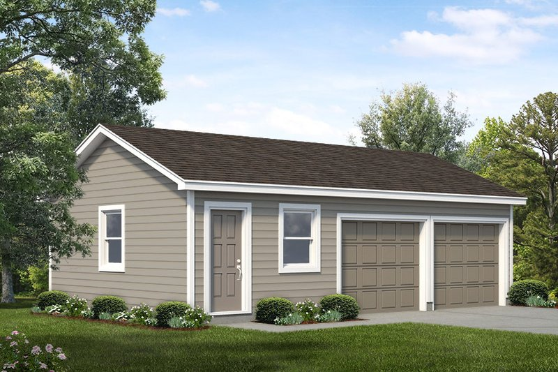 Traditional Exterior - Front Elevation Plan #47-1062