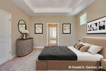 Architectural House Design - Traditional Interior - Master Bedroom Plan #929-980